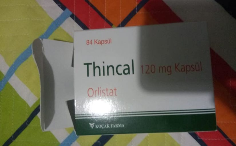 Thincal 120mg kapsül orlistat